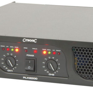 Citronic PLX2800 POWER AMPLIFIER 2800W