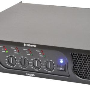 Citronic QP1600 QUAD POWER AMPLIFIER 4 x 400W