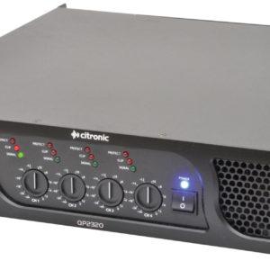 Citronic QP2320 QUAD POWER AMPLIFIER 4 x 580W