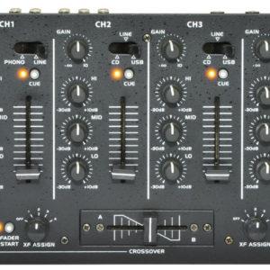Citronic CDM8:4S 4CH 19IN RACKMOUNT DJ MIXER
